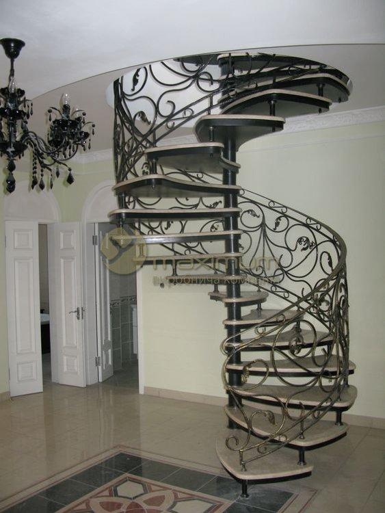 Как сделать металлическую лестницу своими руками