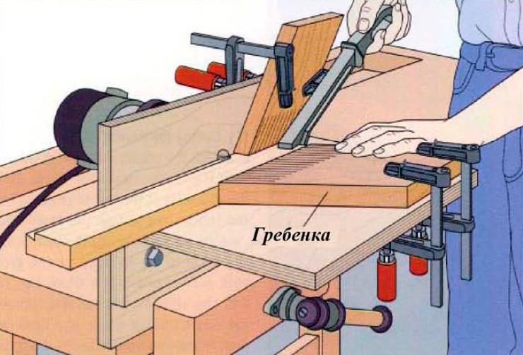 Секреты фрезерования шипов