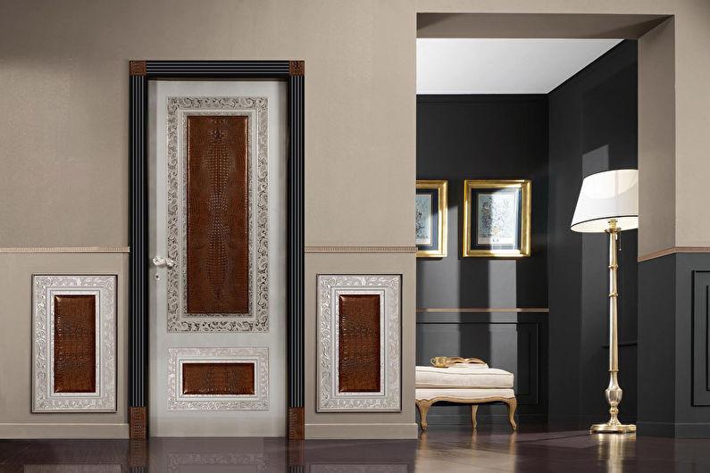 Декор старых дверей своими руками
