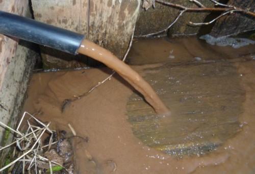 Вода из заиленной скважины