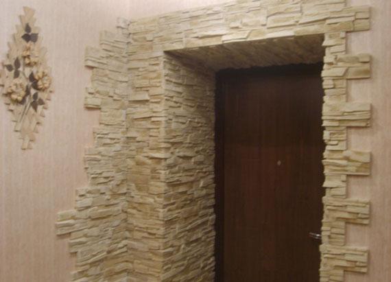 дверные откосы из декоративного камня