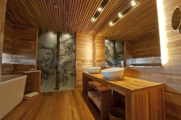 4 способа как сделать потолок в деревянном доме