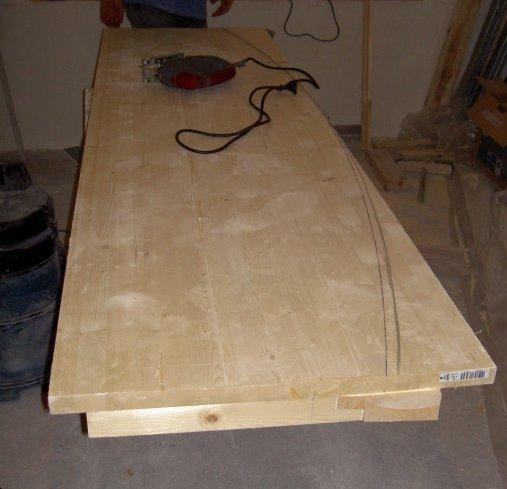 Пошаговая инструкция монтажа столешницы из ДСП и керамической плитки