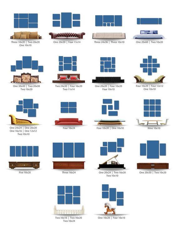 13 идей декоративного панно на стену из подручных средства