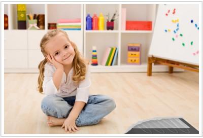 Детская с ламинатом на теплый пол