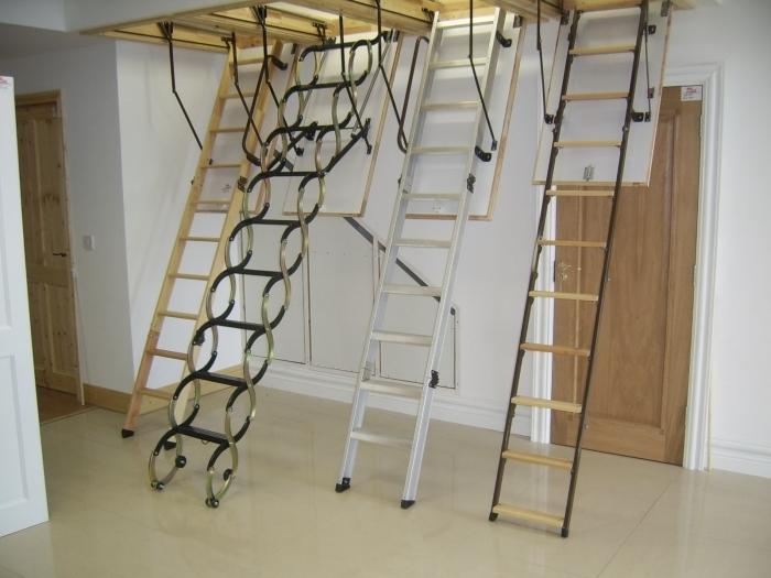 лестница люк
