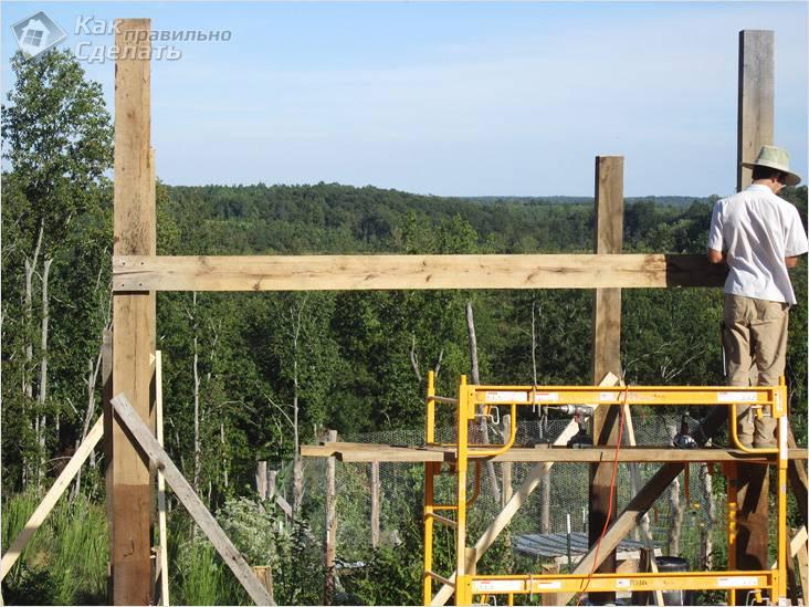 Как обойтись без строительных лесов
