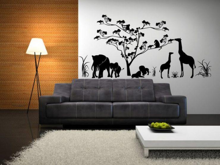 Как украсить пустую стену? Простая инструкция с интересными идеями на фото.