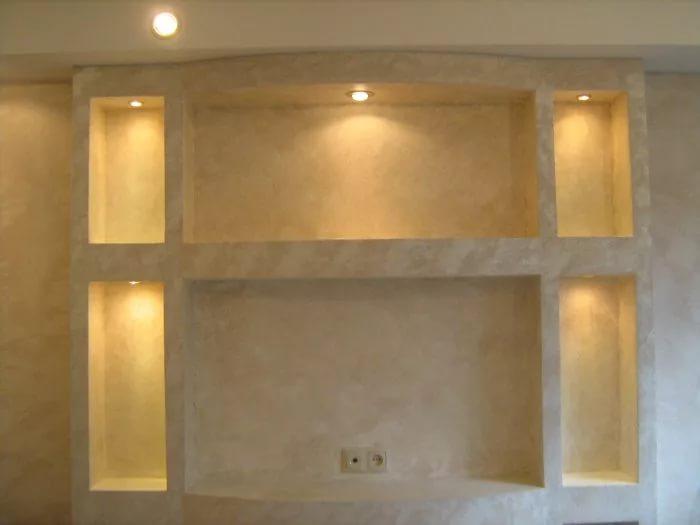 Сборка и установка гипсокартонной ниши в стене