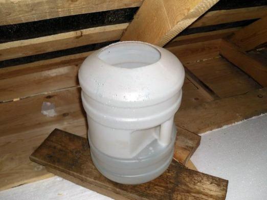 пластиковая емкость для изготовления бачка