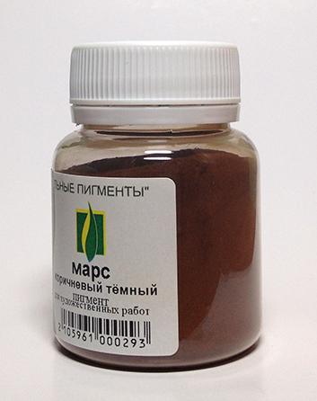 Пример коричневого оттенка