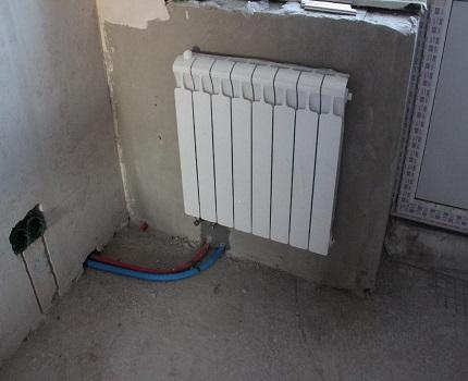 Коллекторное отопление