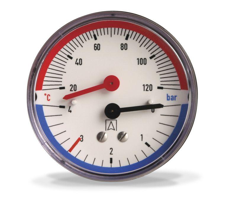манометр для системы отопления