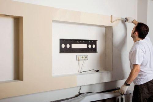 Как сделать нишу в стене из гипсокартона своими руками— пошаговая инструкция, фото и видео