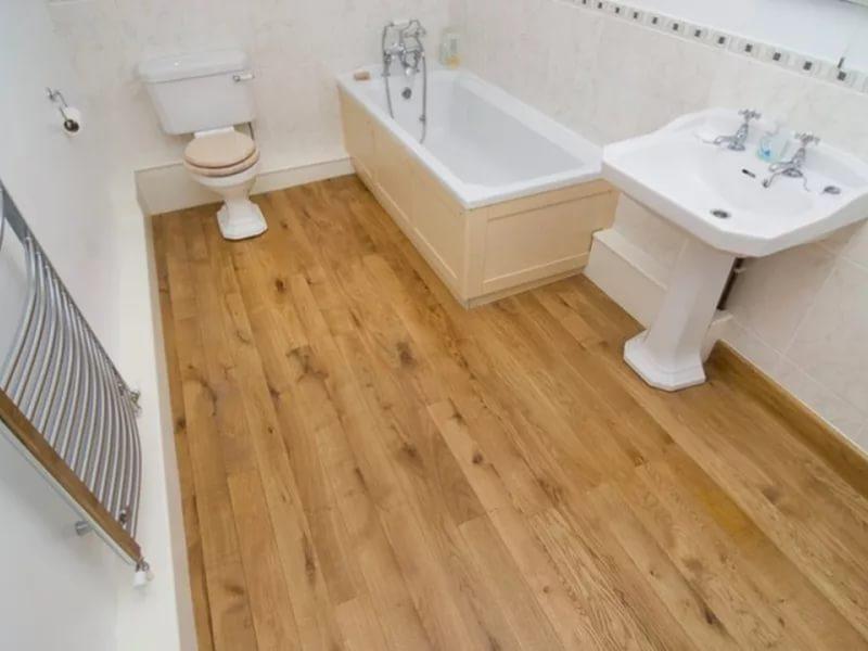 Кафельная плитка может имитировать любую древесину