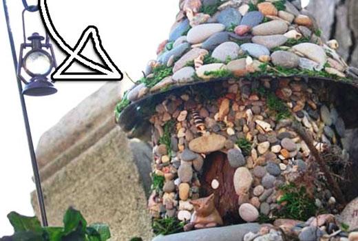 Башня замка из камней