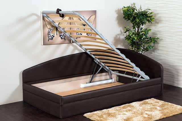Откидная рама двухместной кровати