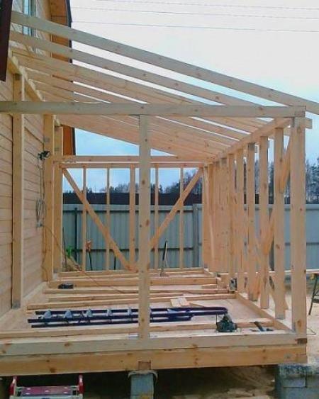 Поэтапное руководство по строительству веранды на даче своими руками