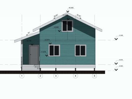 план дома по канадской технологии