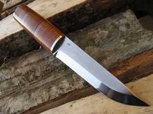 Как сделать из напильника нож своими руками