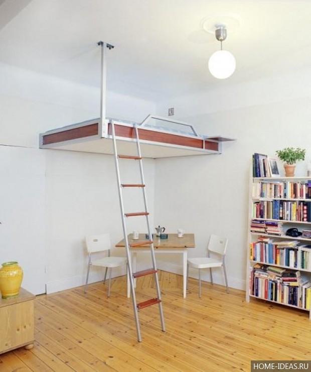 Как сделать второй этаж в квартире