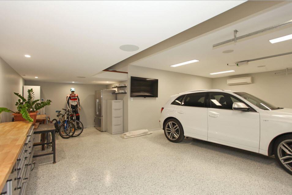 чем обшить гараж внутри