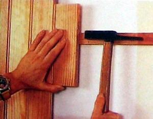 Фото: обшивка стен