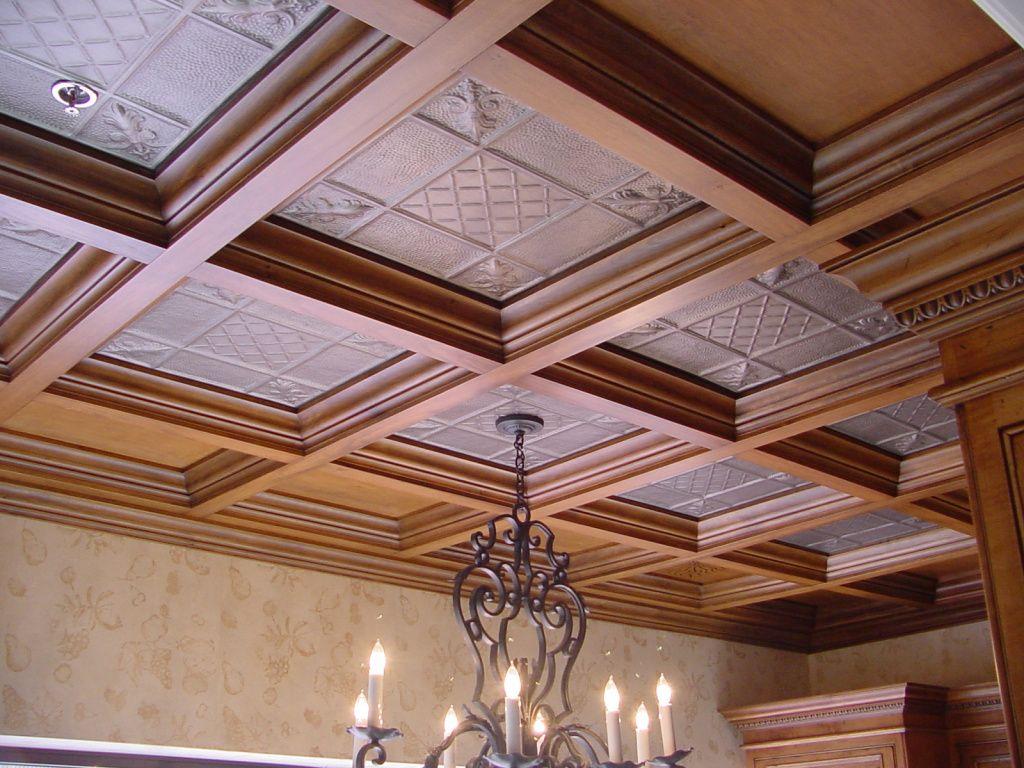 потолки в деревянном доме