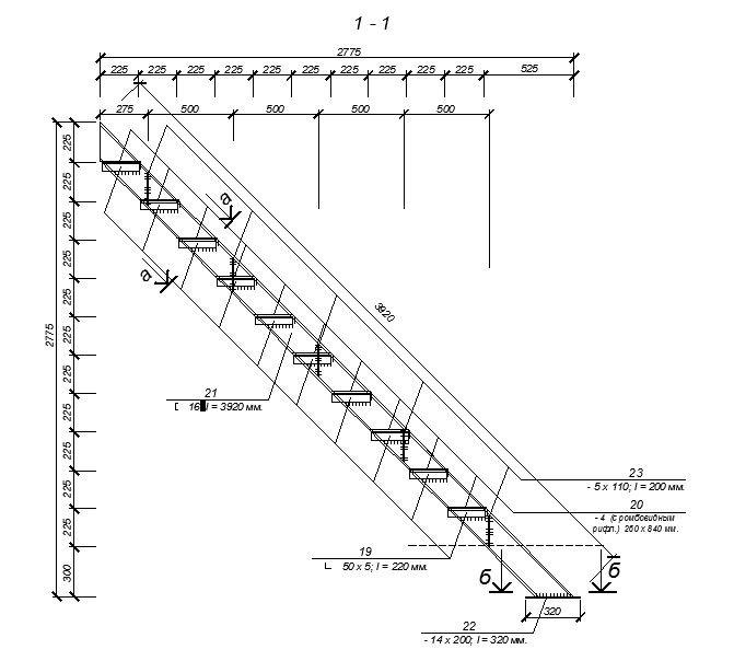 Измерить и рассчитать основные параметры железной лестницы необходимо очень серьезно и тщательно