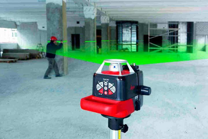 Дальность измерения лазерного уровня