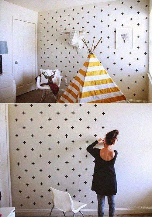 Как украсить стену- 30  бюджетных идей
