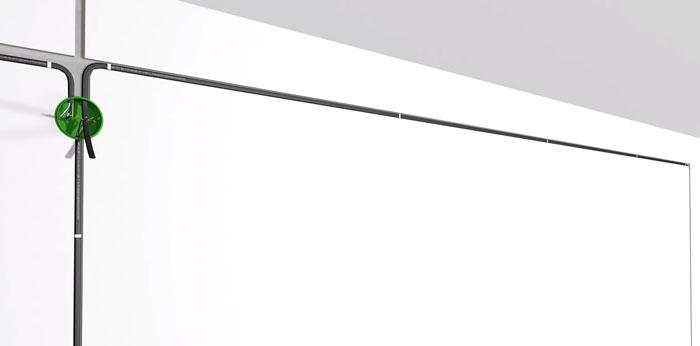 прокладка кабеля между проходным диммером и выключателем